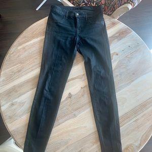 J Brand Black Super Skinny Jean